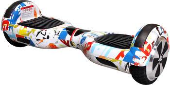 Actionbikes E-Balance Board ROBWAY W1 bunt weiß