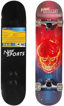 Vedes New Sports Skateboard Ghostrider