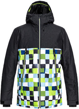 Quiksilver Men's Sierra lime green/check atomic