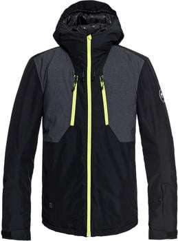 Quiksilver Men's Mission Plus Jacket black