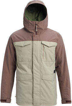 Burton Men Covert Jacket (130651) hawk/chestnut