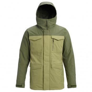 Burton Men's Covert Jacket (130651) mosstone/clover
