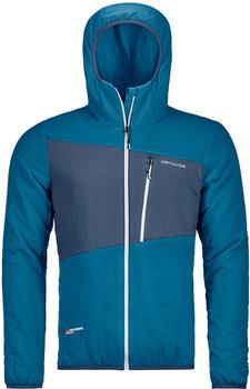 Ortovox Swisswool Zebru Jacket M blue sea