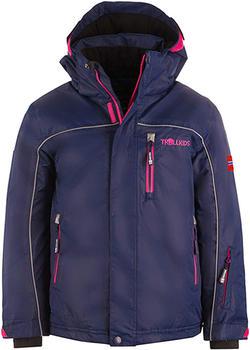 Trollkids Kids Holmenkollen Snow Jacket XT navy/magenta