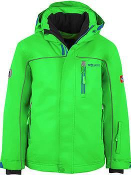 Trollkids Kids Holmenkollen Snow Jacket XT bright green