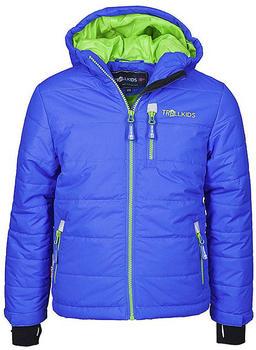 Trollkids Kids Hemsedal Snow Jacket med blue/green