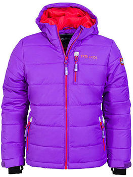 Trollkids Kids Hemsedal Snow Jacket purple/red