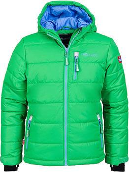 Trollkids Kids Hemsedal Snow Jacket fern green/blue