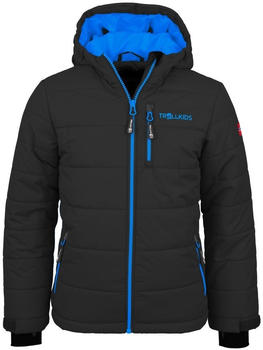 Trollkids Kids Hemsedal Snow Jacket dark grey/blue