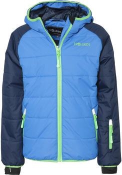 Trollkids Kids Hafjell Snow Jacket navy/med blue/green