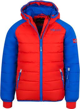 Trollkids Kids Hafjell Snow Jacket red/medium blue