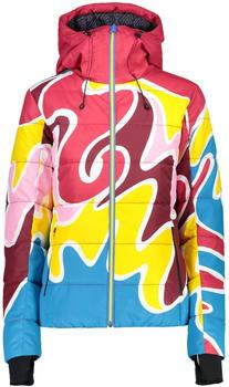 CMP Retro Ski Jacket (38W0796) jewel sun granita red