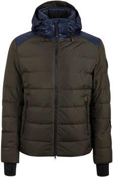 Bogner Lasse Down Ski Jacket olive green/navy blue