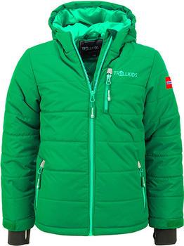 Trollkids Kids Hemsedal Snow Jacket dark green