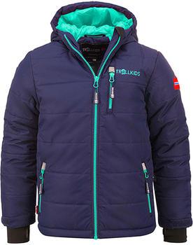 Trollkids Kids Hemsedal Snow Jacket navy/mint