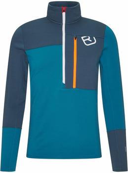 ortovox-fleece-light-zip-neck-m-blue-sea-87097-50301