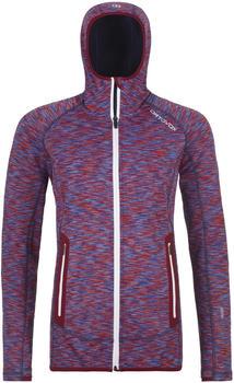 ortovox-fleece-space-dyed-hoody-w-dark-blood-blend-86964-32801