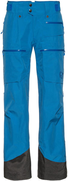 Norrøna Women's lofoten Gore-Tex Insulated Pants campanula blue