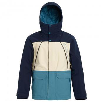 Burton Breach Jacket (10180106401) Dress Blue / Almond Milk / Storm Blue