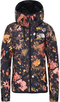 The North Face Superlu Jacket Women TNF black flower child multi print