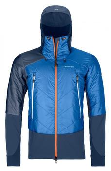 Ortovox Swisswool Piz Palü Jacket M safety blue
