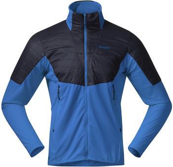 Bergans Senja Midlayer Jacket strong blue/solid charcoal