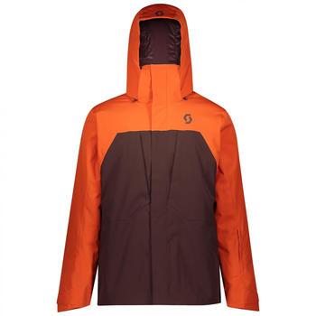 Scott Ultimate Dryo 10 Men's Jacket orange pumpkin/red fudge