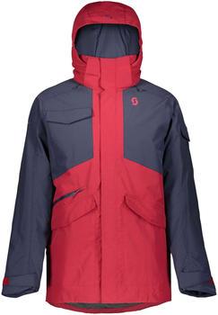 Scott Ultimate Dryo Jacket wine red/blue nights