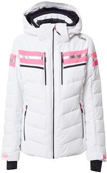 CMP Woman Jacket Zip Hood (30W0816) bianco