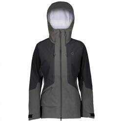 Scott Sports Scott Vertic GTX 3L Stretch Jacket Women dark grey melange/black