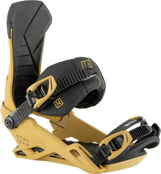 Nitro Team Snowboard Bindings (2021) clay