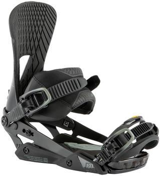 Nitro Machine Snowboard Bindings (2021) carbon grey