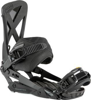 Nitro Phantom Carver Snowboard Bindings (2021) ultra black