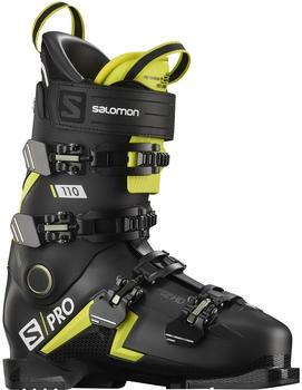 Salomon s/Pro 110 black, acid green, white