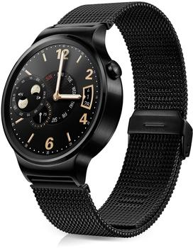 Huawei Watch Classic mit Netzarmband schwarz