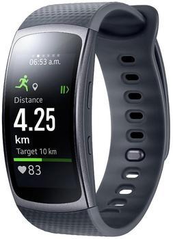 Samsung Gear Fit 2 L schwarz