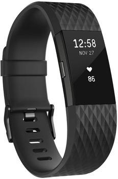 Fitbit Charge 2 schwarzgunmetall S