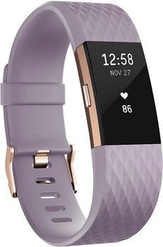 Fitbit Charge 2 lavendelrosegold L