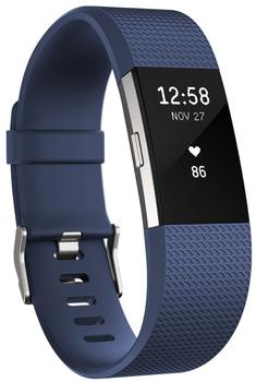 Fitbit Charge 2 blausilber S