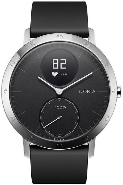 Nokia Steel HR schwarz