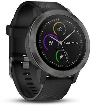 Garmin Vivoactive 3 schwarz/schiefer
