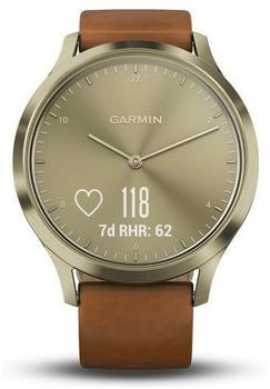 Garmin vivomove HR Premium S/M gold/light brown