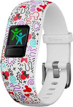 Garmin vivofit jr. 2 Minnie Mouse white