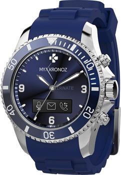 MyKronoz ZeClock blau