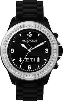 MyKronoz ZeClock Swarovski schwarz