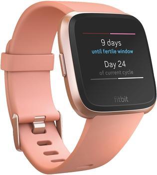 Fitbit Versa Peach/Aluminium Rose Gold