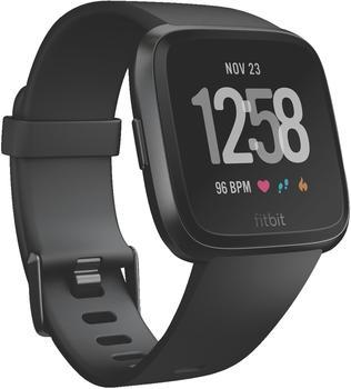 Fitbit Versa Black/ Aluminium Black