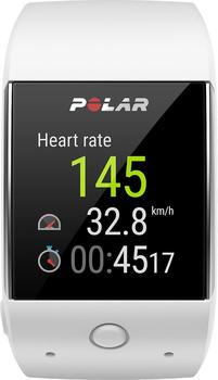 Polar M600 weiß + H7 Herzfrequenz-Sender