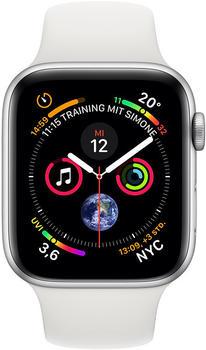 apple-watch-series-4-gps-40mm-silber-aluminium-sportarmband-weiss