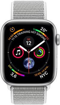apple-watch-series-4-gps-44mm-silber-aluminium-sport-loop-muschel